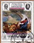 "Stamps Yemen -  ""CRISTO APLACA LA TEMPESTAD"" POR TIEPOLO"