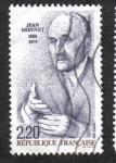 Stamps France -  Monnet Jean (1888-1979)