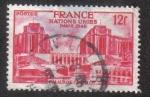 Sellos de Europa - Francia -  Palais de Chaillot. United Nations General Assembly - Paris