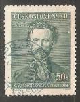 Sellos de Europa - Checoslovaquia -  Jindřich Fügner