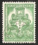 Sellos de Europa - Checoslovaquia -  3rd Five-Year Plan