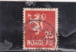 Stamps Sweden -  leon rampante