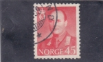 Stamps : Europe : Norway :  Olaf V de Noruega