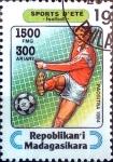 Stamps : Africa : Madagascar :  Intercambio agm2 1,65 usd 1500 fr. 1995