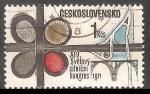 Stamps Czechoslovakia -  14 Congreso Mundial de Carreteras y Puentes