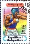 Stamps : Africa : Madagascar :  Intercambio agm2 0,20 usd 140 fr. 1995