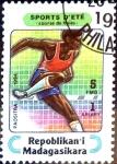 Stamps : Africa : Madagascar :  Intercambio agm2 0,10 usd 5 fr. 1995
