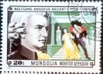 Stamps Mongolia -  Intercambio 0,20 usd 20 m. 1981