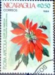 Stamps : America : Nicaragua :  Intercambio nf4b 0,20 usd 0,20 cor. 1984