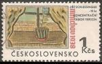 Stamps Czechoslovakia -  Campo de concentración de Theresienstadt