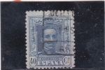 Stamps Spain -  Alfonso XIII (24)