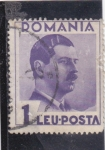 Stamps Romania -  Miguel I de Rumania