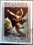 Sellos de America - Nicaragua -  Intercambio 0,20 usd 0,50 córdobas 1984