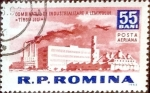 Stamps : Europe : Romania :  Intercambio m4b 0,20 usd 55 b. 1963