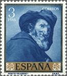 Stamps Spain -  ESPAÑA 1959 1247 Sello Nuevo Pintor Diego Velázquez Menipo 3pts