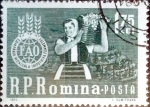 Stamps : Europe : Romania :  Intercambio m4b 0,25 usd 1,75 l. 1963
