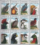 Stamps Angola -  AVES