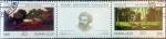 Stamps Russia -  Intercambio cr2f 0,50 usd 2 x 10 k. 1991