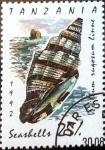 sellos de Africa - Tanzania -  Intercambio aexa 0,75 usd 25 sh. 1992