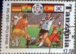 Stamps : Africa : Tanzania :  Intercambio 0,55 usd 50 sh. 1994