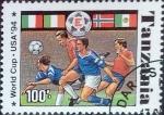 sellos de Africa - Tanzania -  Intercambio 1,10 usd 100 sh. 1994