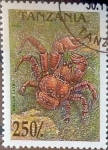 Sellos de Africa - Tanzania -  Intercambio 1,85 usd 250 sh. 1994