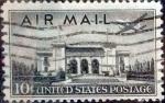 Sellos de America - Estados Unidos -  Intercambio 0,20 usd 10 cents. 1947