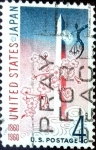 Sellos de America - Estados Unidos -  Intercambio 0,20 usd 4 cents. 1960