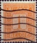 Sellos de Europa - Bélgica -  Intercambio 0,20 usd 1 cents. 1912