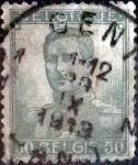 sellos de Europa - Bélgica -  Intercambio 0,80 usd 50 cents. 1912