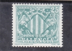 Stamps : Europe : Spain :  plan sur de Valencia (24)
