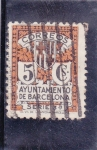 Stamps : Europe : Spain :  ayuntamiento de Barcelona (24)