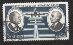 Stamps France -  Didier Daurat and Raymond Vanier