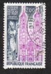 Sellos de Europa - Francia -   Basílica de San Nicolás du Port . Meurthe - et-Moselle