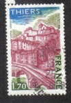 Stamps France -  Thiers