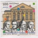 Sellos de Europa - Alemania -  Kulturstadt Europas