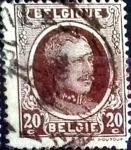 Sellos de Europa - Bélgica -  Intercambio 0,20 usd 20 cents. 1922