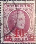 Sellos de Europa - Bélgica -  Intercambio 0,20 usd 10 s. 15 cents. 1927