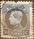 Sellos de Europa - Bélgica -  Intercambio 0,20 usd 50 cents. 1921