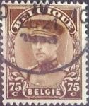 Stamps Belgium -  Intercambio 0,20 usd 75 cents. 1932
