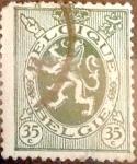sellos de Europa - Bélgica -  Intercambio 0,20 usd 35 cents. 1929