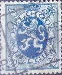 sellos de Europa - Bélgica -  Intercambio 0,20 usd 50 cents. 1929