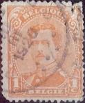 Stamps Belgium -  Intercambio 0,20 usd 1 cents. 1915