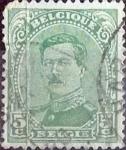 Stamps Belgium -  Intercambio 0,20 usd 5 cents. 1915