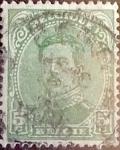 Sellos de Europa - Bélgica -  Intercambio 0,20 usd 5 cents. 1915
