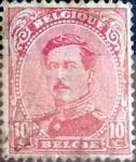 sellos de Europa - Bélgica -  Intercambio 0,20 usd 10 cents. 1915