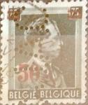 sellos de Europa - Bélgica -  Intercambio 0,20 usd 50 s. 75 cents. 1938