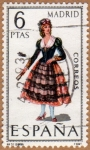 Stamps Europe - Spain -  TRAJE REGIONAL FEMENINO – MADRID