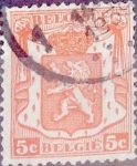 sellos de Europa - Bélgica -  Intercambio 0,20 usd 5 cents. 1935