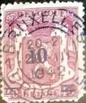 sellos de Europa - Bélgica -  Intercambio 0,20 usd 10 s. 40 cents. 1938